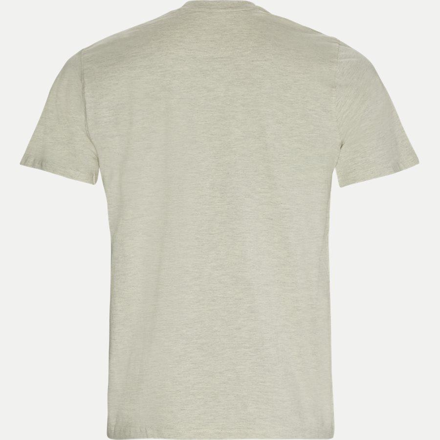 SHANE - Logo T-shirt - T-shirts - Regular - HVID MELANGE - 2